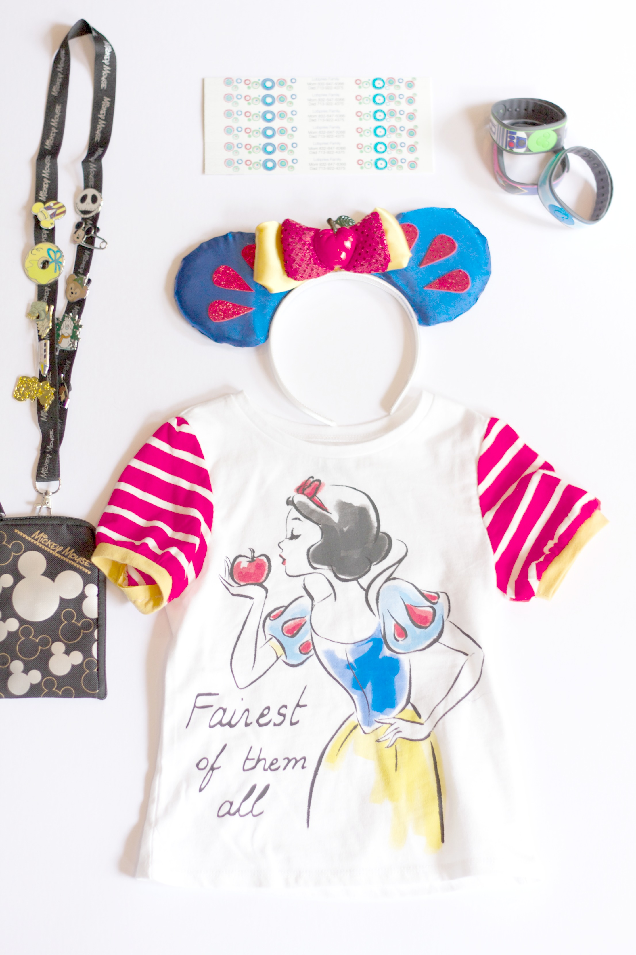 Disney Items to Pack