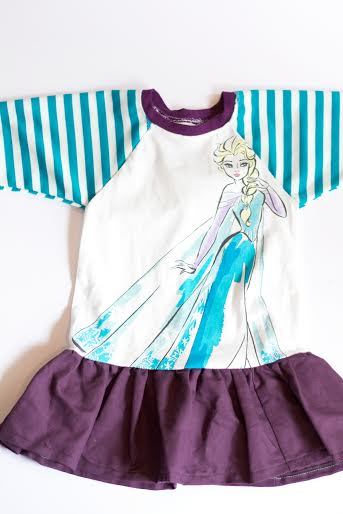 DIY Elsa Shirt