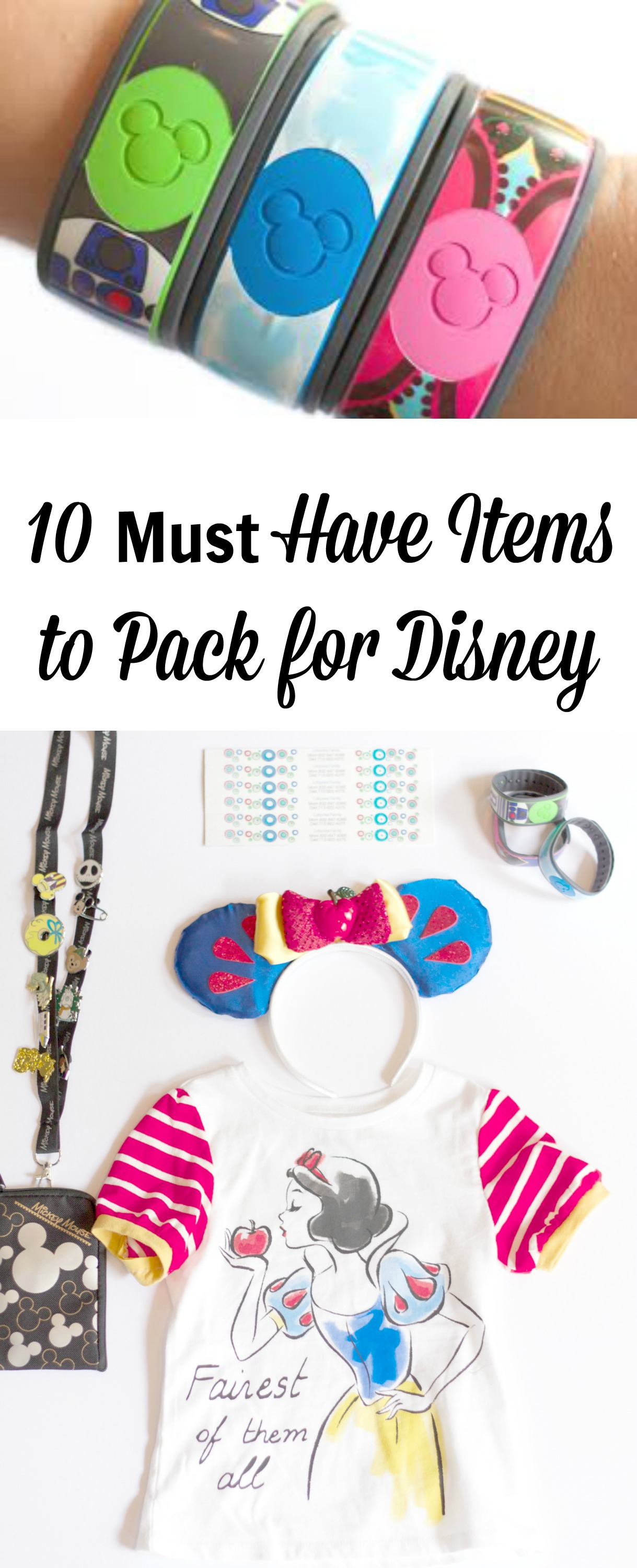 Must Have Items to Pack for Disney