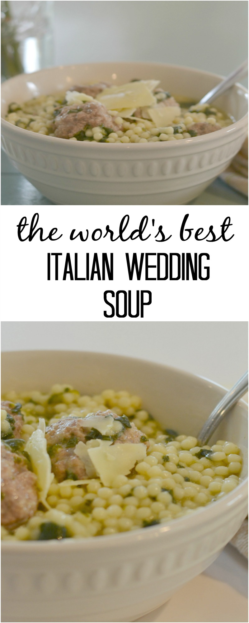 The World's Best Italian Wedding Soup