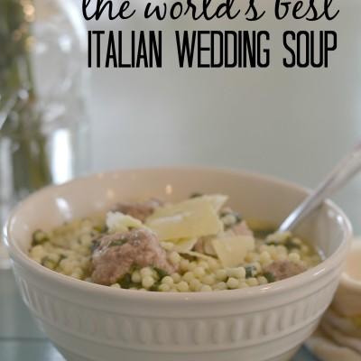World's Best Italian Wedding Soup