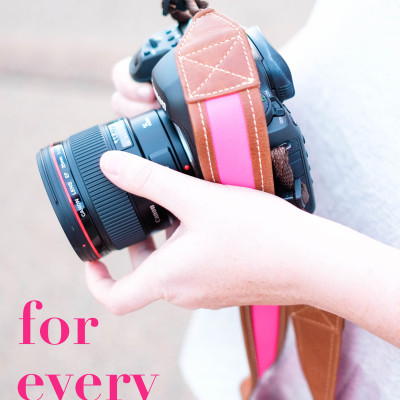 Five must-haves for every photographer