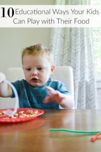 10 Educational Ways Your Kids Can Play With Their Food