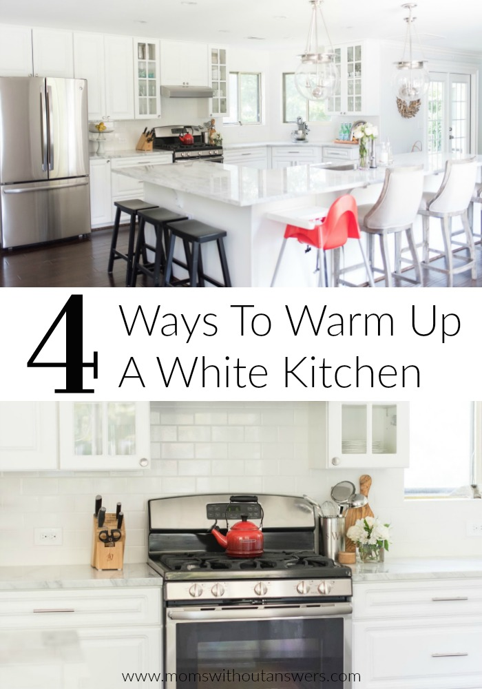 This kitchen is amazing! Such great ideas. Who doesn't love a white kitchen?