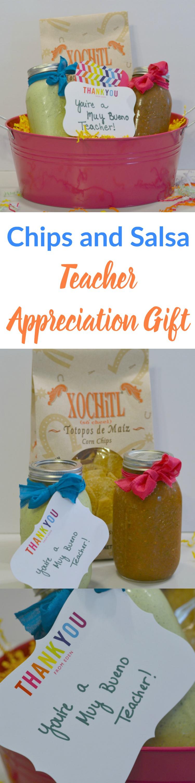 Chips and Salsa Teacher Appreciation Gift- Pinterest