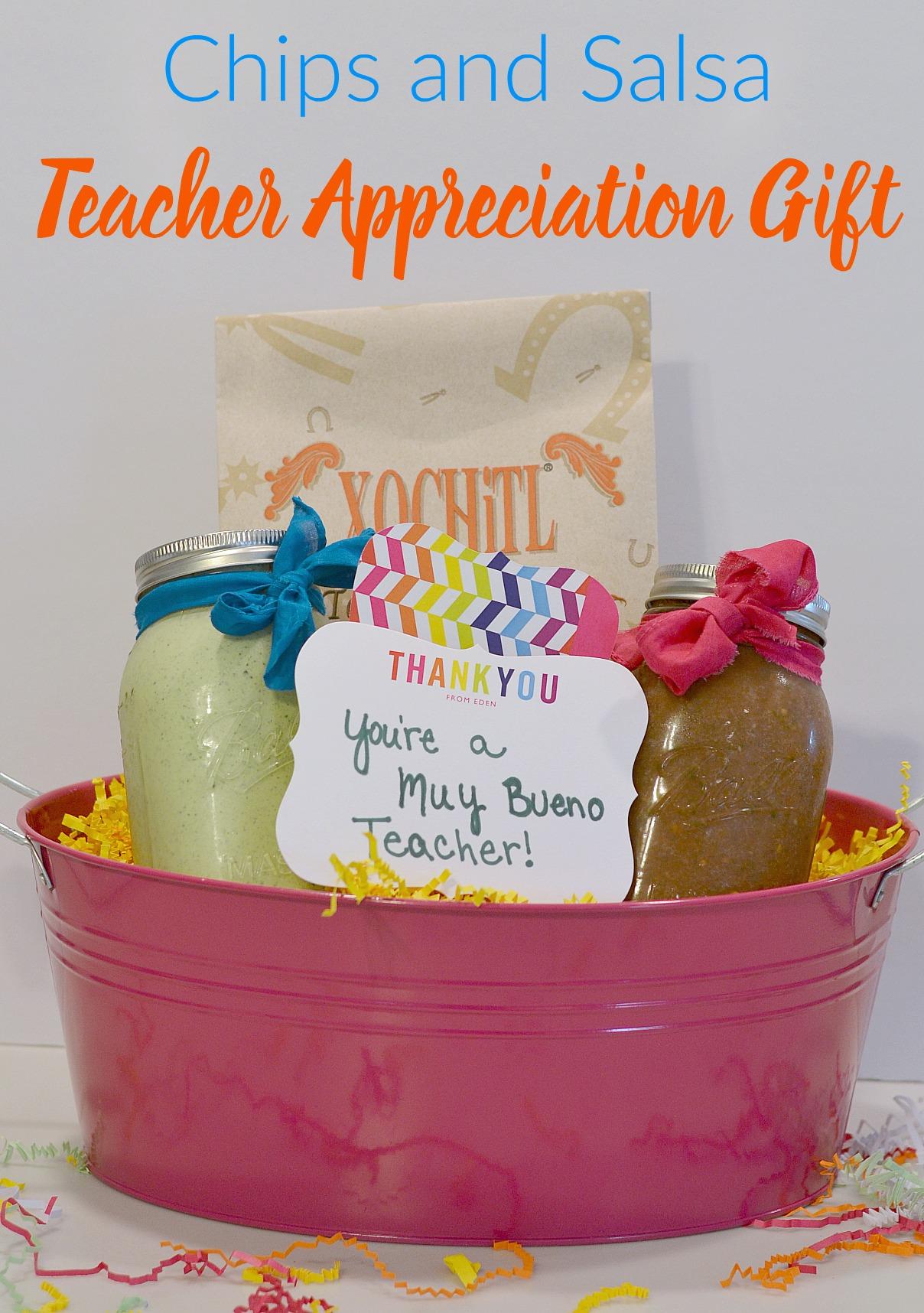 Chips and Salsa Teacher Appreciation Gift