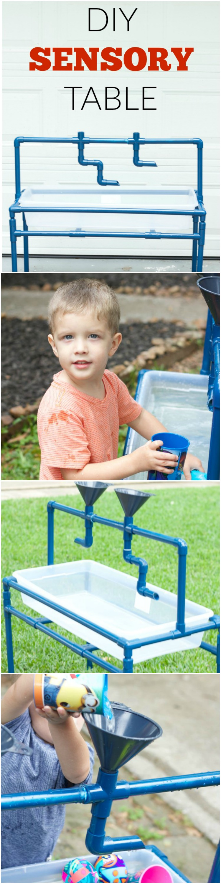 This is so fun! What a fun idea for the summer. This DIY Sensory Table looks so easy to make!