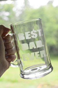 Fathers Day DIY Etched Glass Beer Mugs Gifts-7