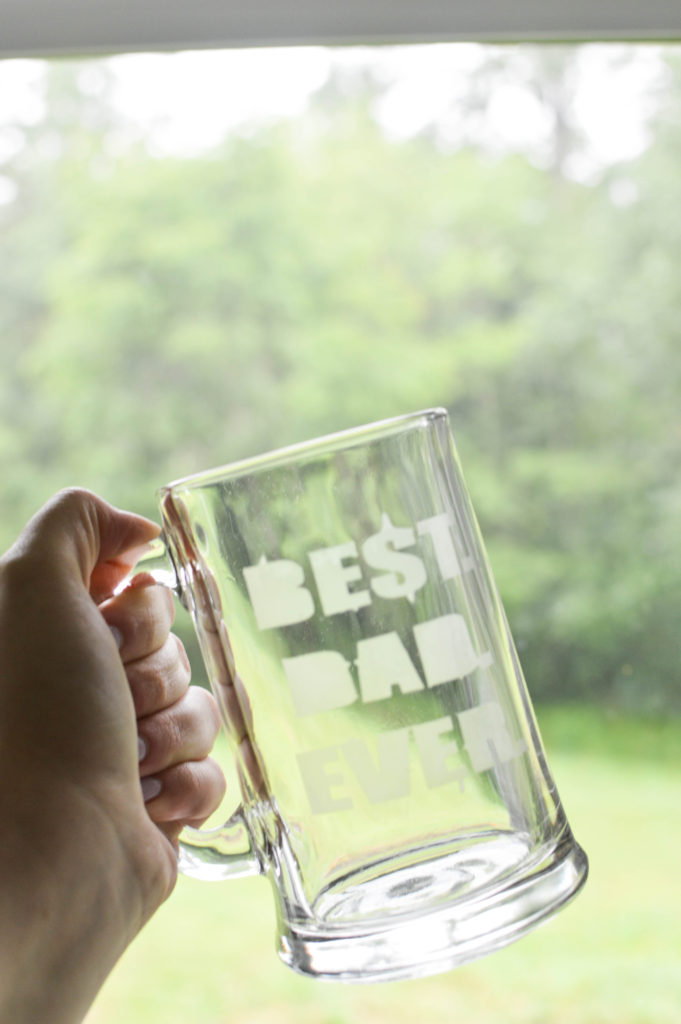 Fathers Day DIY Etched Glass Beer Mugs Gifts-8
