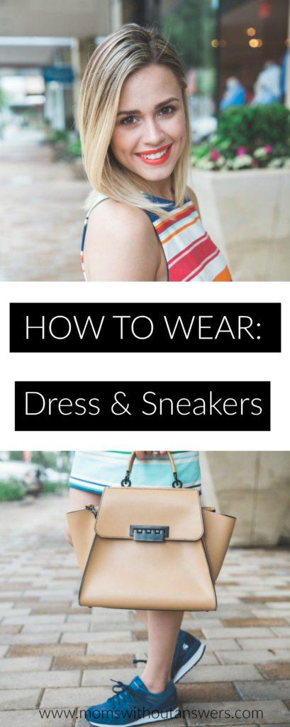 HowToWearDressAndSneakers