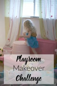 Playroom Makeover Challenge. Such great ideas on turning a playroom for toddlers into one for growing kids.