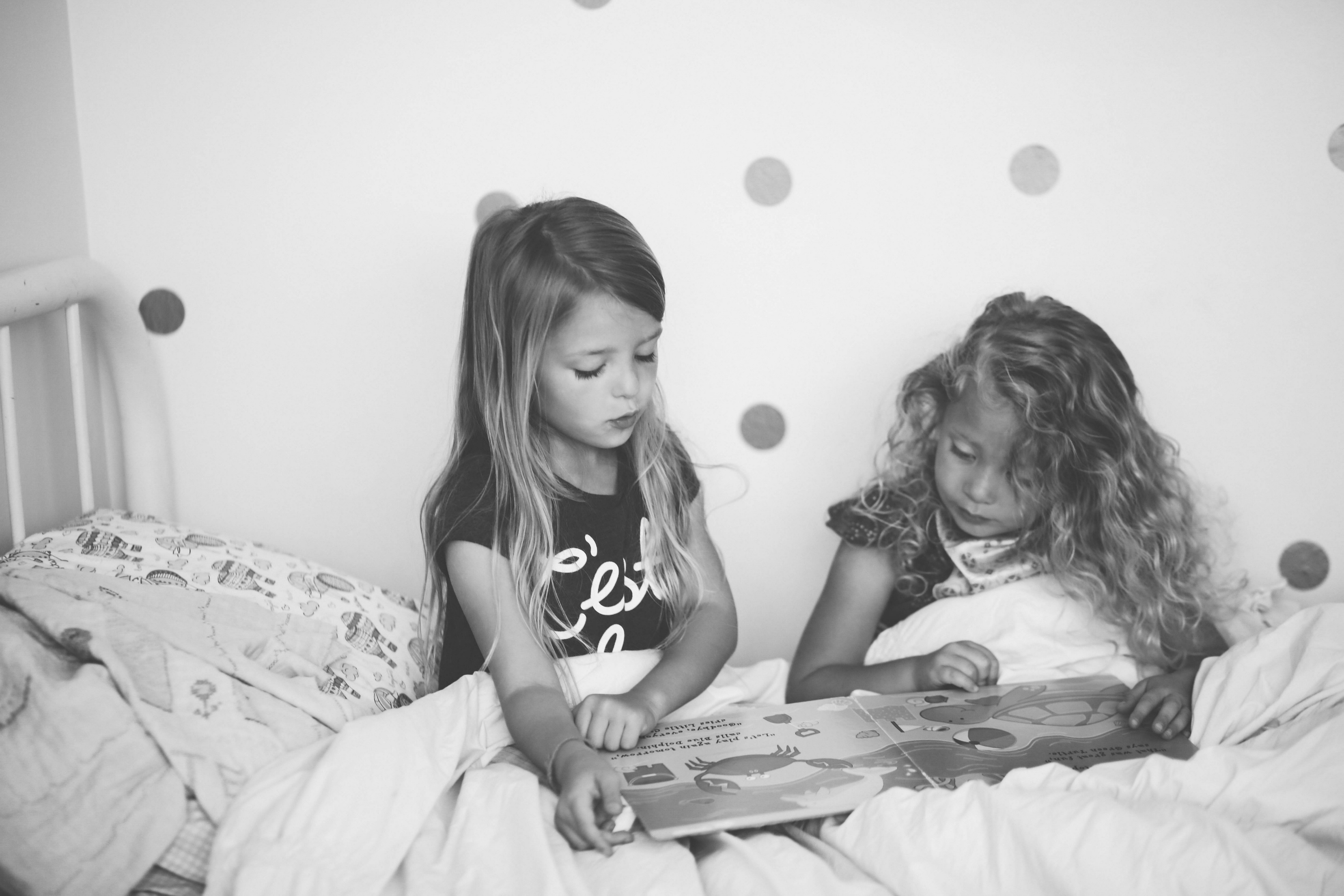 Sisters Reading