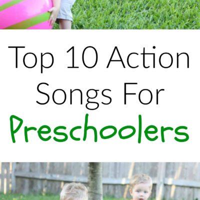 Top 10 Action Songs For Preschoolers