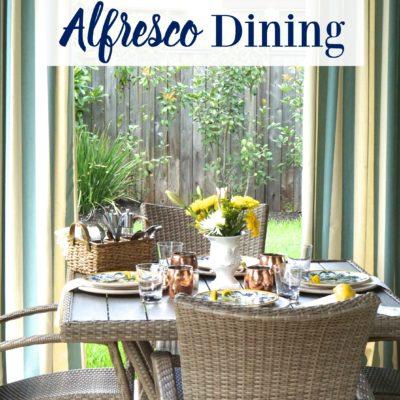 4 Tips for Alfresco Dining