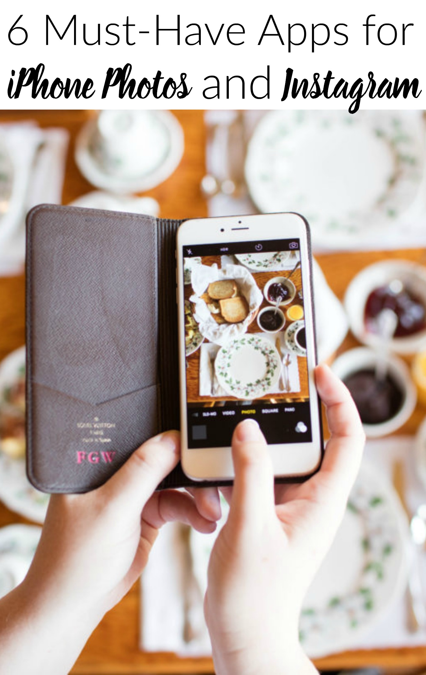 6 Must-Hav Apps for iPhones Photos and Instagram.This is the best tutorial for iPhone picture apps. So easy to follow!