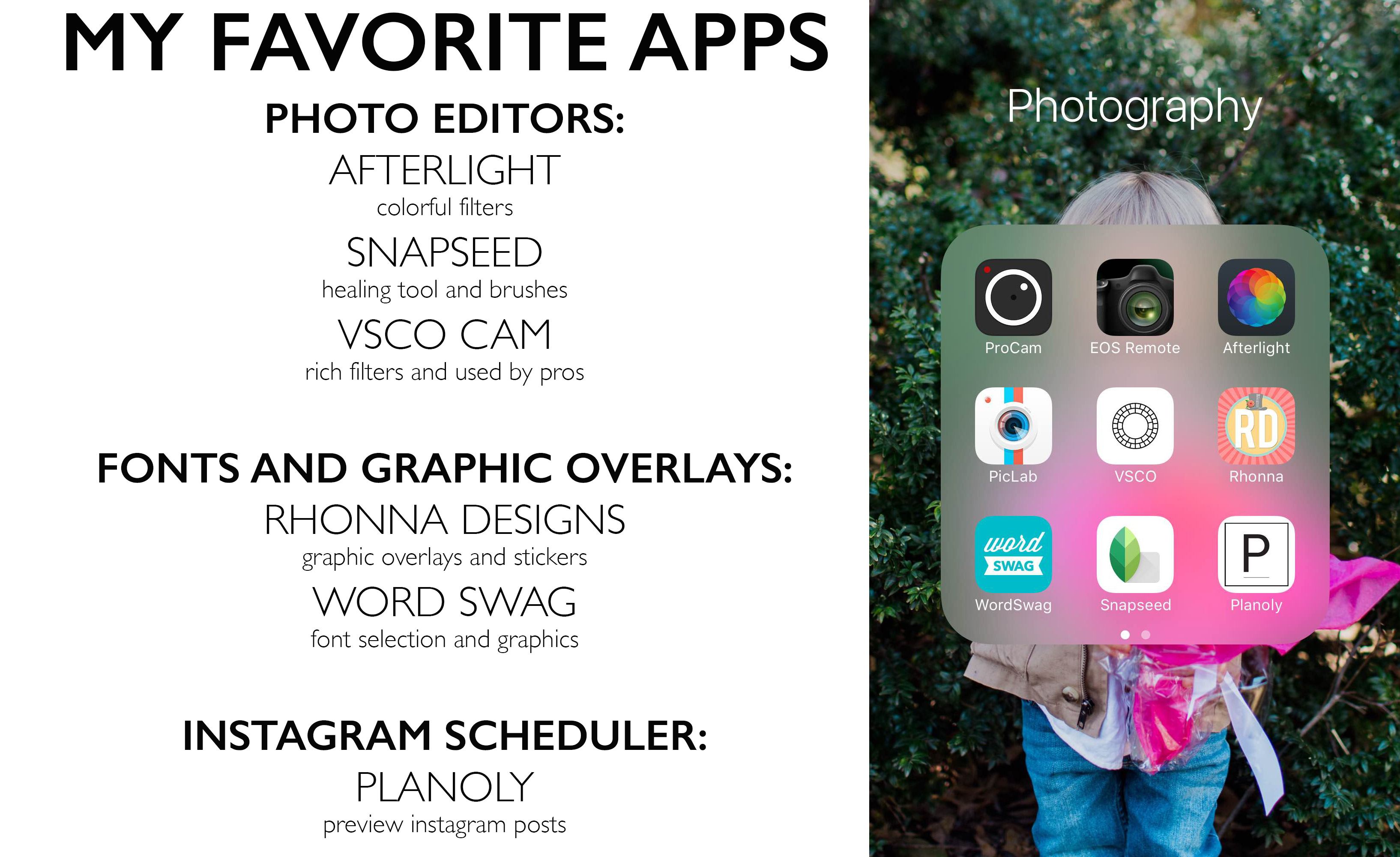 MWOA july favorite apps image