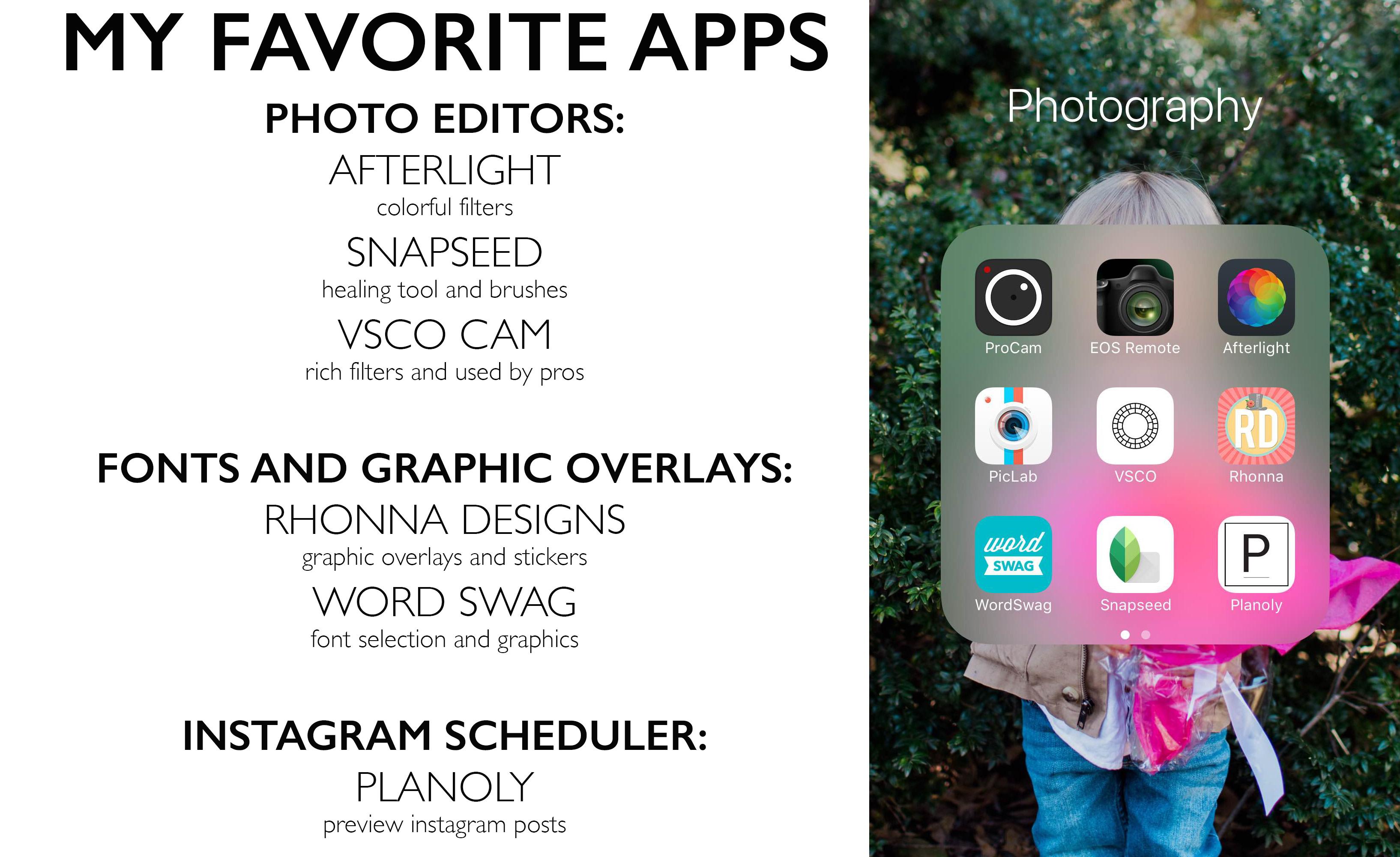 MWOA july favorite apps image