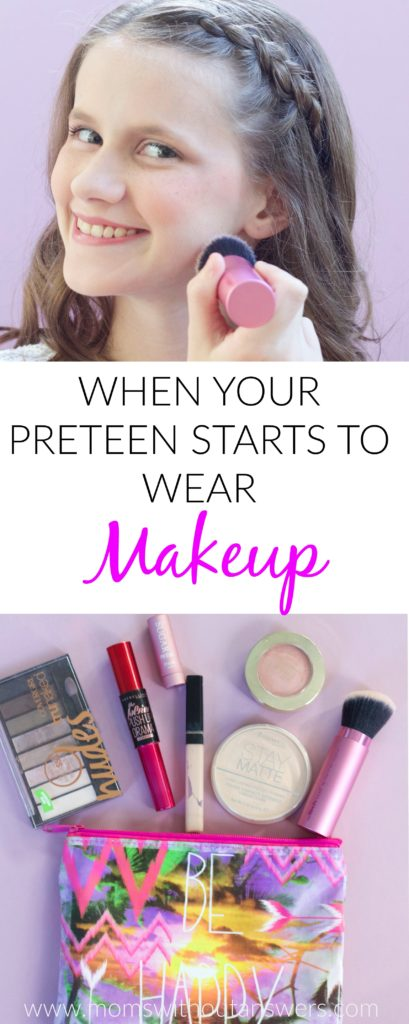 When Your Preteen Starts to Wear Makeup- This post has awesome makeup tips for preteens. Great suggestion on makeup for young girls.