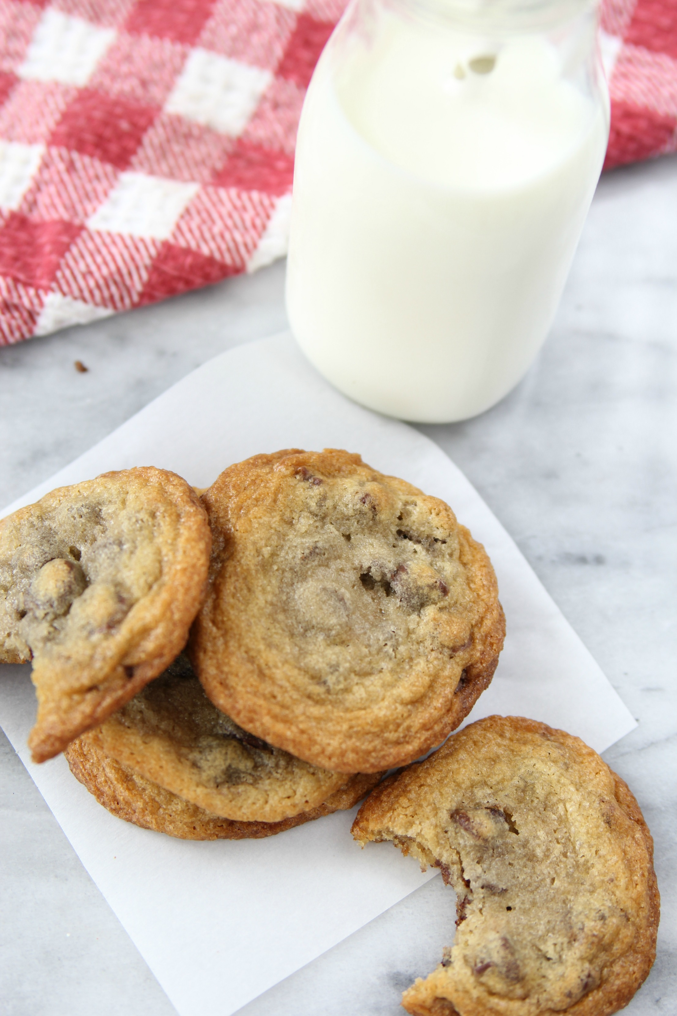 The Secret to the Perfect Chocolate Chip Cookie- This chocolate chip cookie recipe is the best! I will never use another recipe ever!