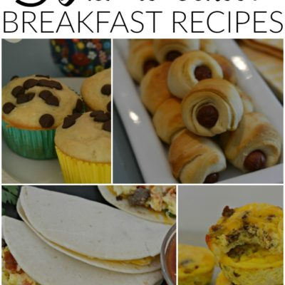 5 Make Ahead Back-to-School Breakfast Recipes