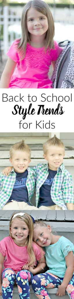 Back to school trends 2016 for kids. These styles are so cute and trendy!