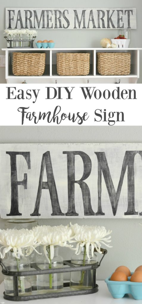 Easy DIY Wooden Sign - this tutorial is very easy to follow. DIY Wooden sign with frame. Rustic wooden sign with saying.