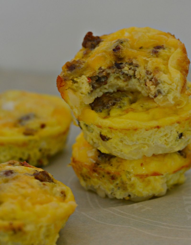 -Egg, Potato, Sausage and Cheese Fritata5 Make Ahead Back to School Breakfast Recipes