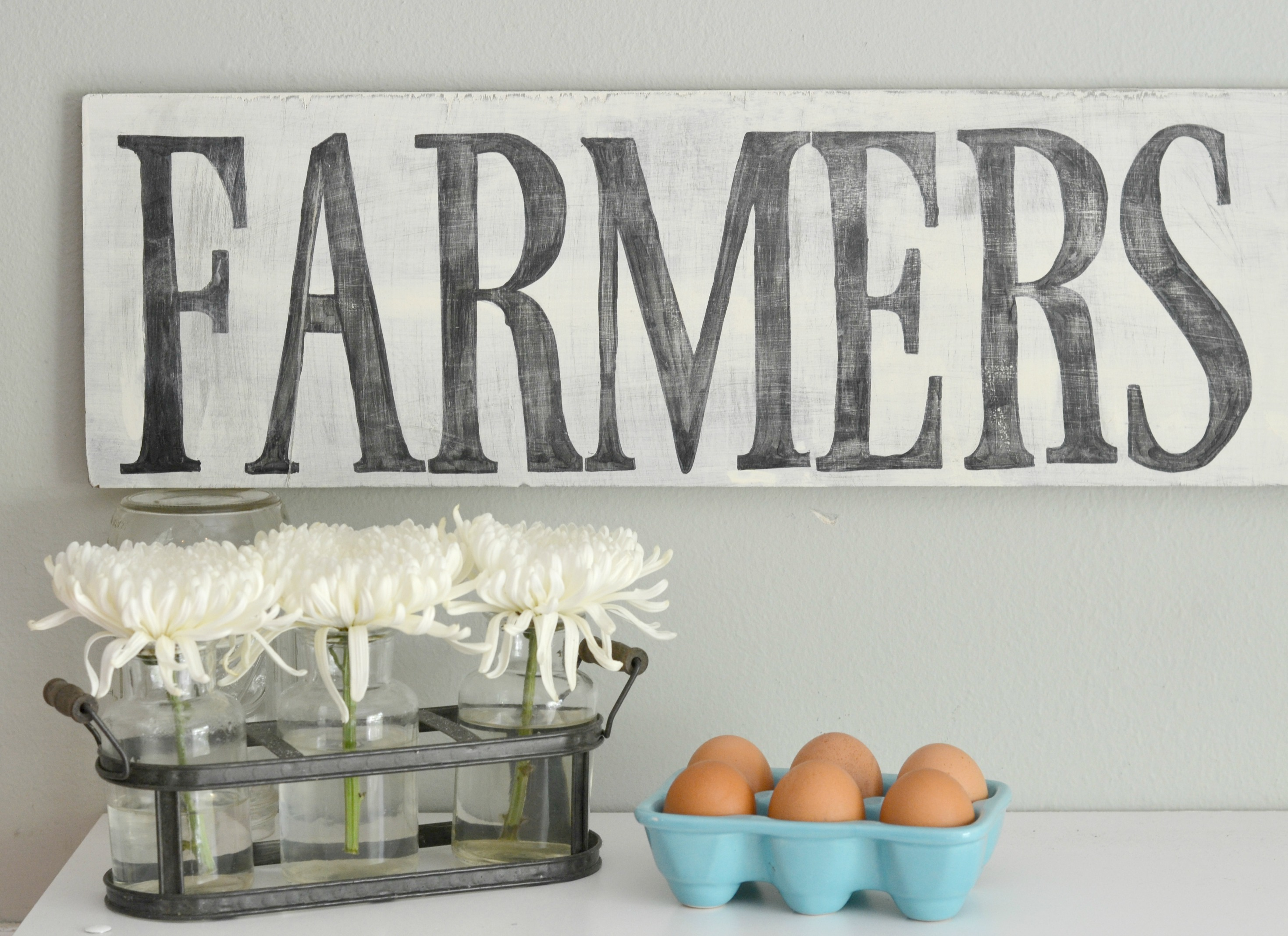 Easy Diy Wooden Farmhouse Sign Houston Mommy And Lifestyle Blogger