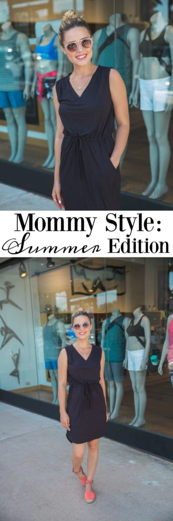 Mommy on the go style | Mom uniform | Casual mommy look