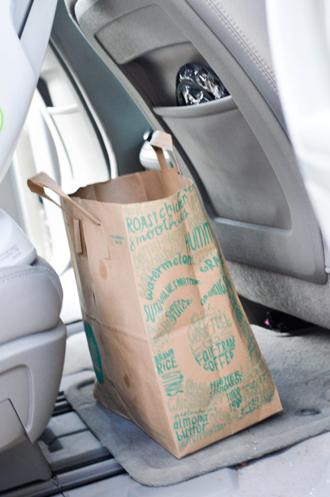 5 Ways to Keep Your Mom-Mobile Clean (enough). Great tips for keeping your car organized and clean. How to keep your car clean.