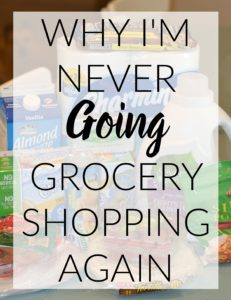 For Moms grocery shopping can be a stressful experience every week but, with this tip you will never have to GO grocery shopping again!