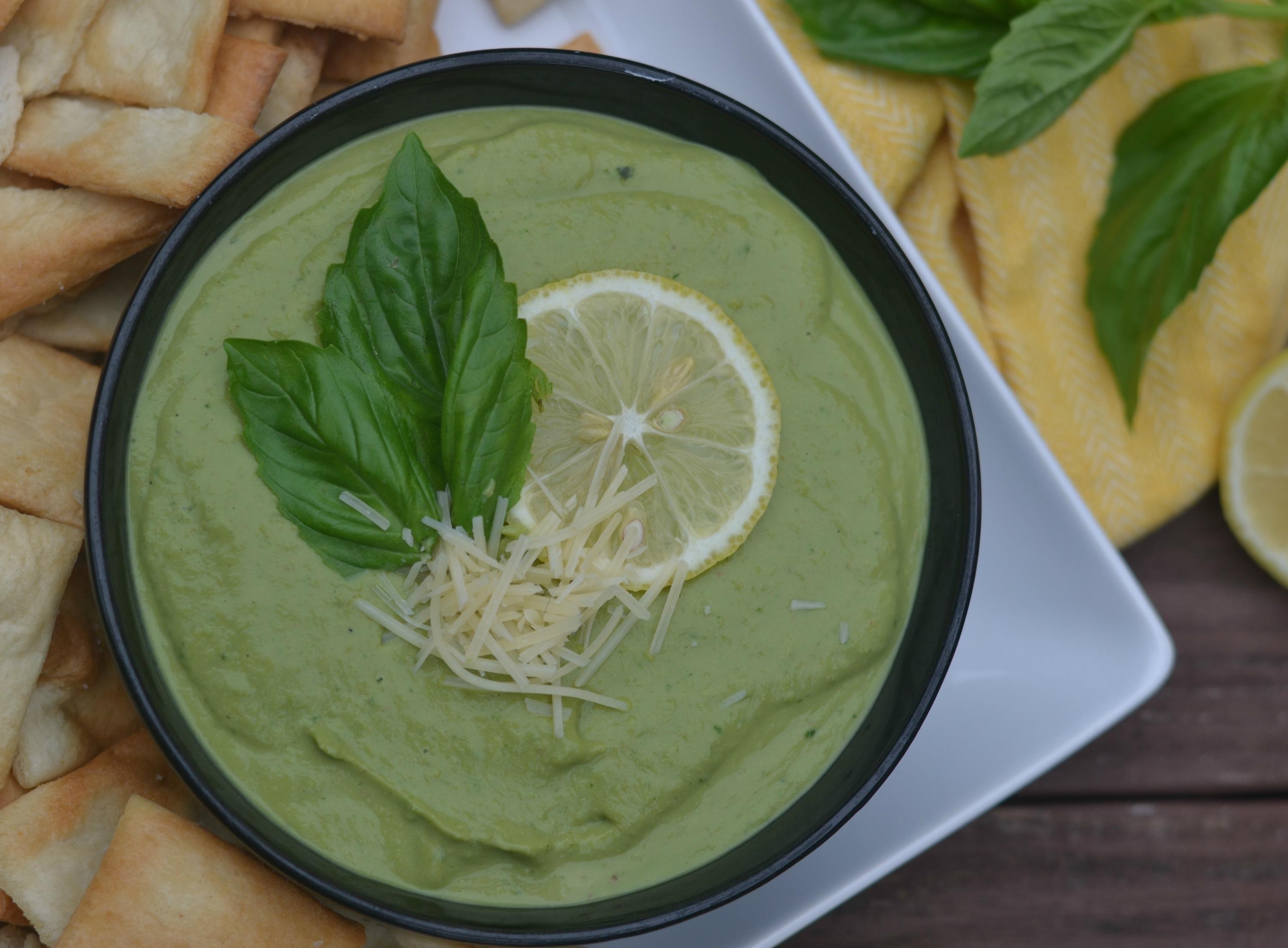 Zoes Kitchen Pesto Hummus Recipe
