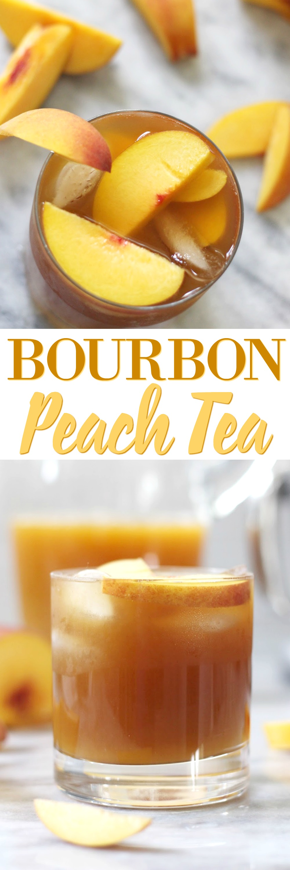 Bourbon Peach Tea