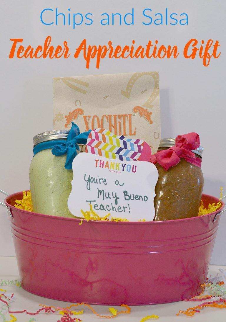 Teacher Appreciation Gift, Back to School Teacher Gift, Chips and Salsa Gift Basket