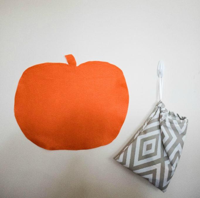 Felt Fall Pumpkin, Toddler Activity, Halloween
