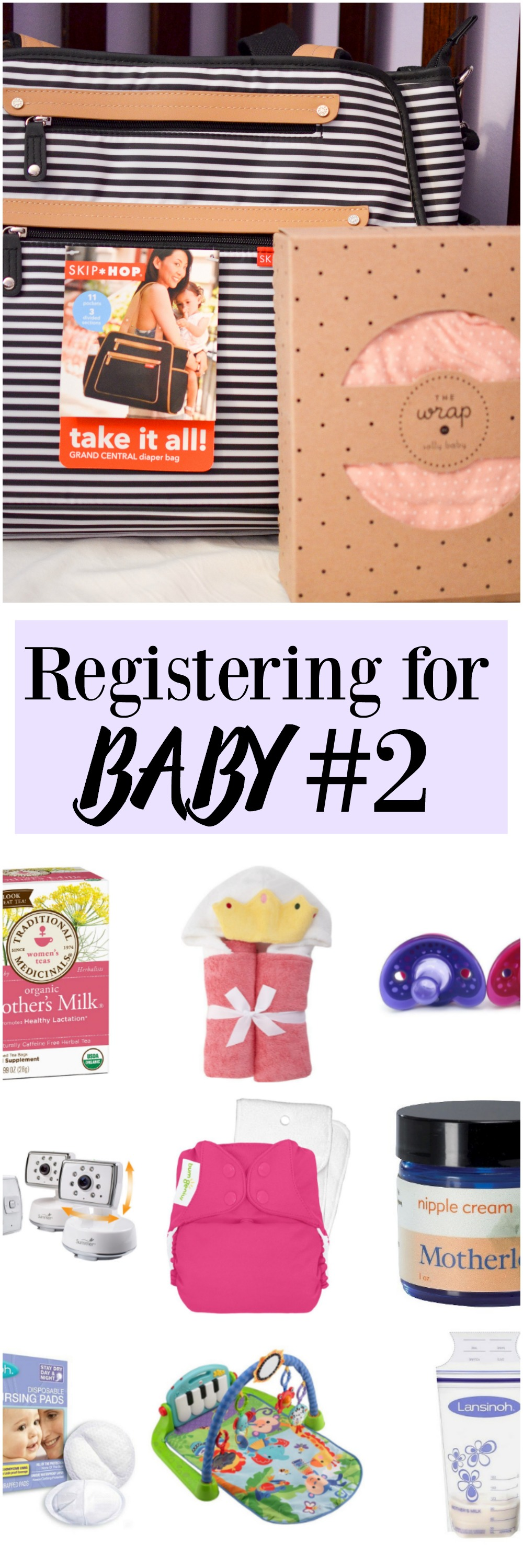Registering for Baby #2. What you really need!