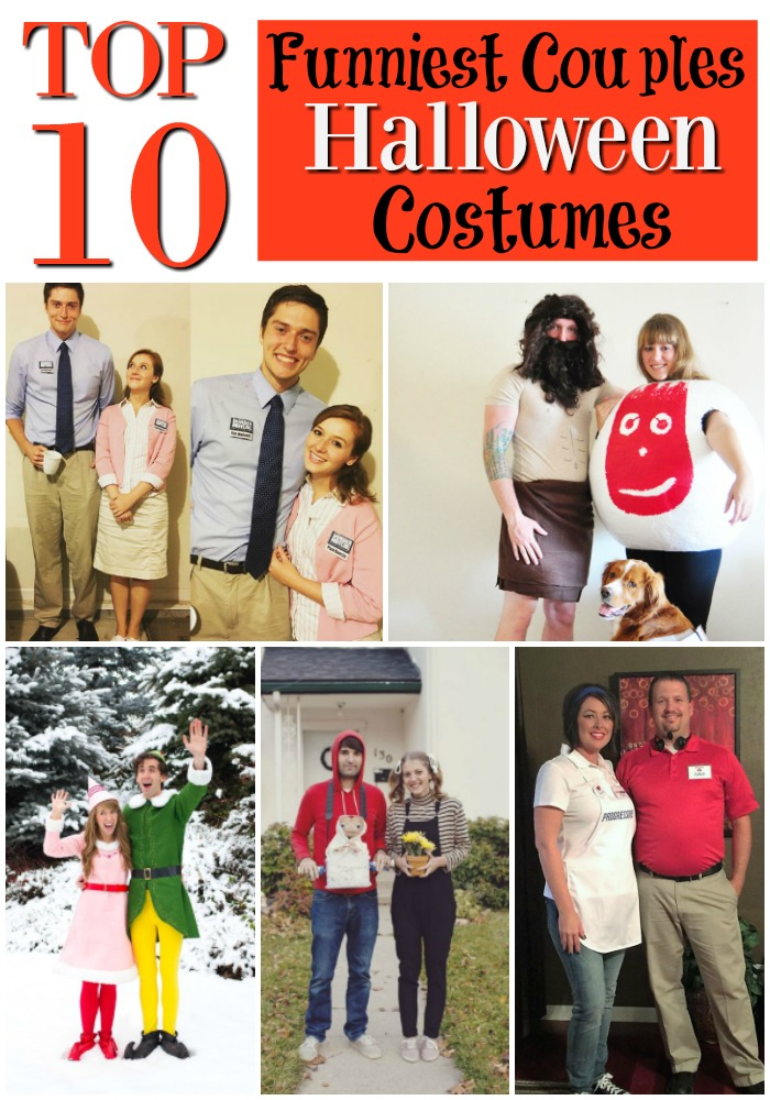 top 10 funniest couples halloween costumes - Top 10 Couple Halloween Costumes