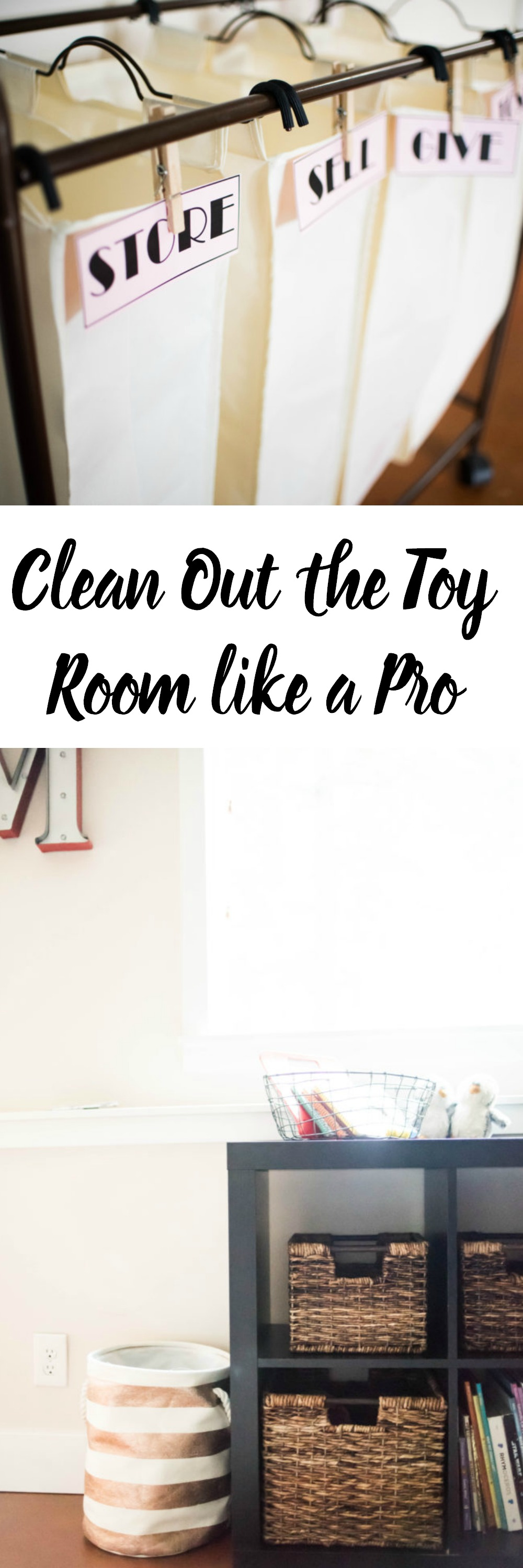 Clean Out the Toy Room like a Pro