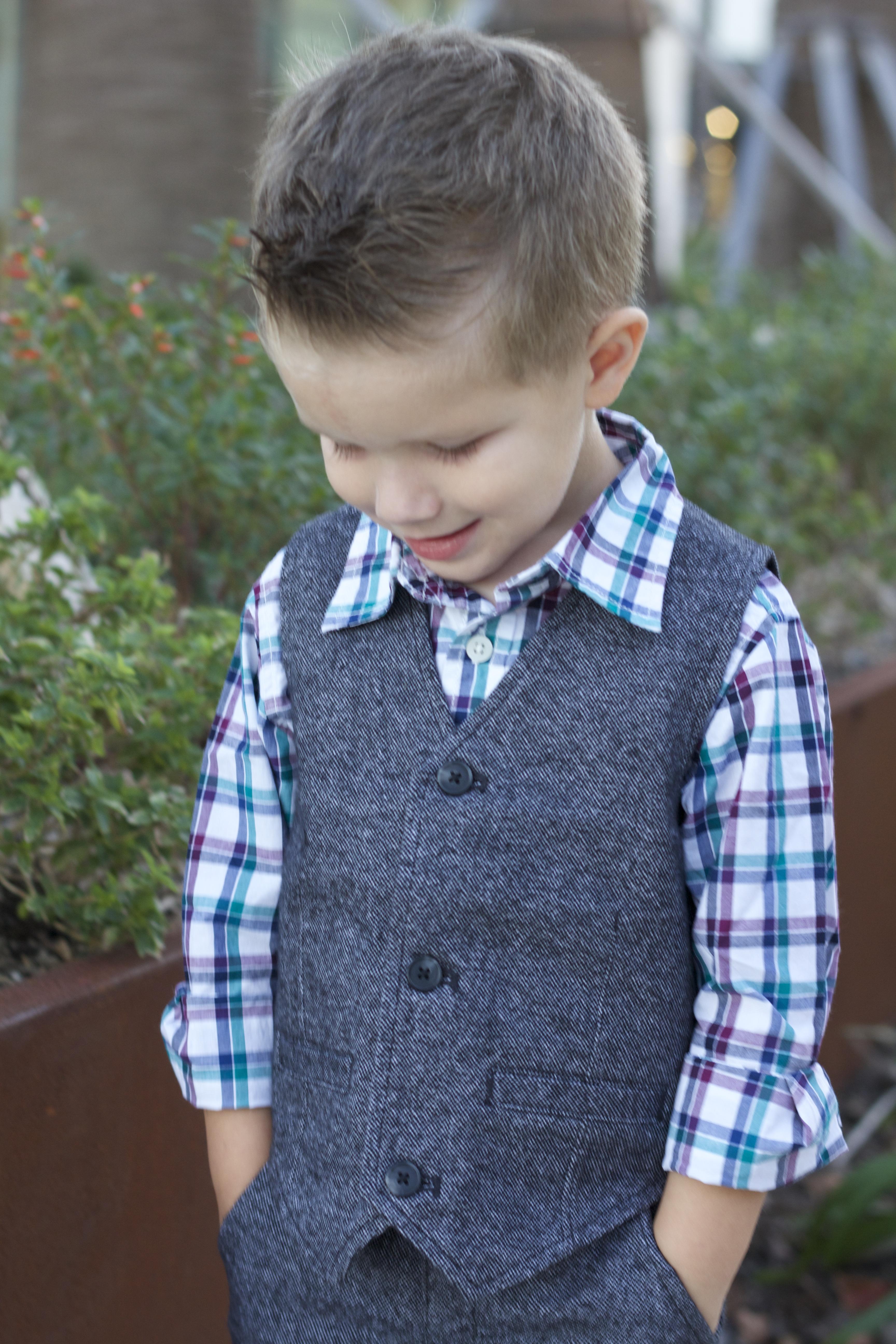 Kids Fashion: Dressy Winter Emerald Tones