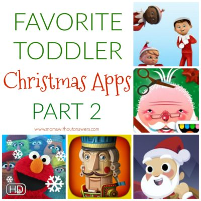Favorite Toddler Christmas Apps: Pt. 2