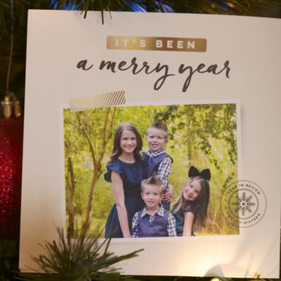 Our 2016 Christmas Card With Tiny Prints
