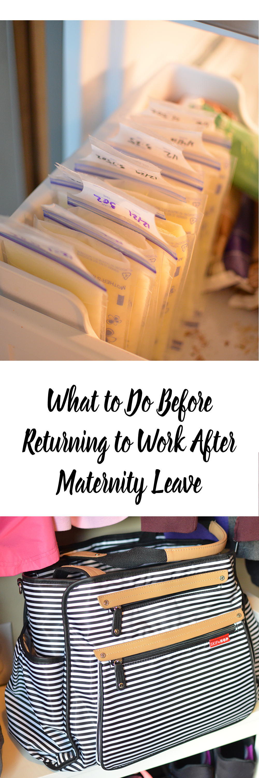Heading back to work? Here are 10 tips to prepare to go back to work after maternity leave!