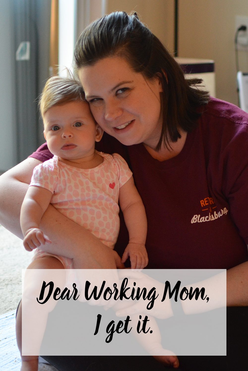 Working motherhood is not for the faint of heart and comes with it's own challenges. To the working moms out there - I get it.