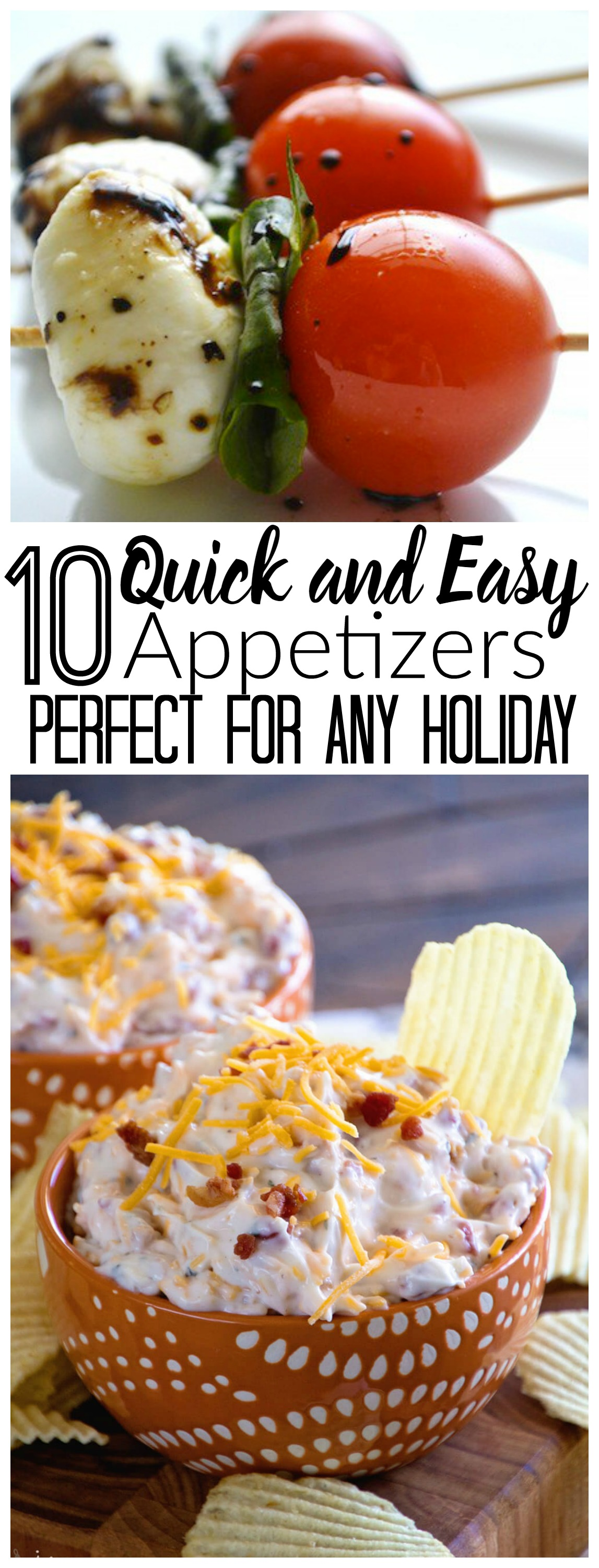 Quick and Easy Appetizers, Holiday Appetizers