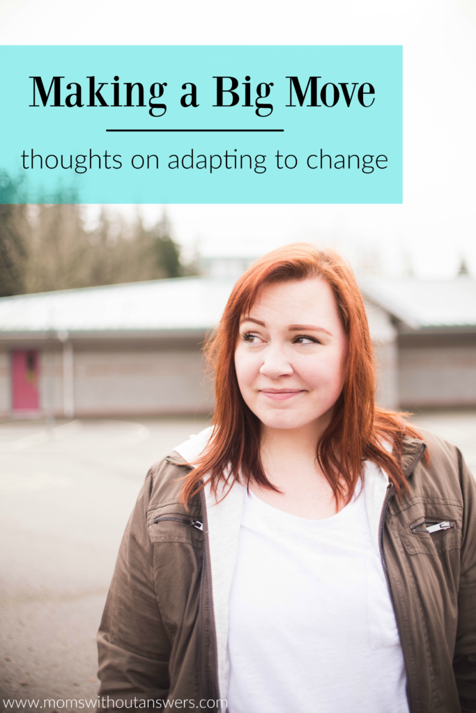 moving tips adapting to change