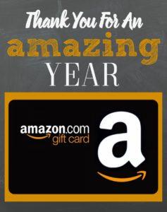 Teacher Gift, Teacher Appreciation Gift, Amazon Gift Card