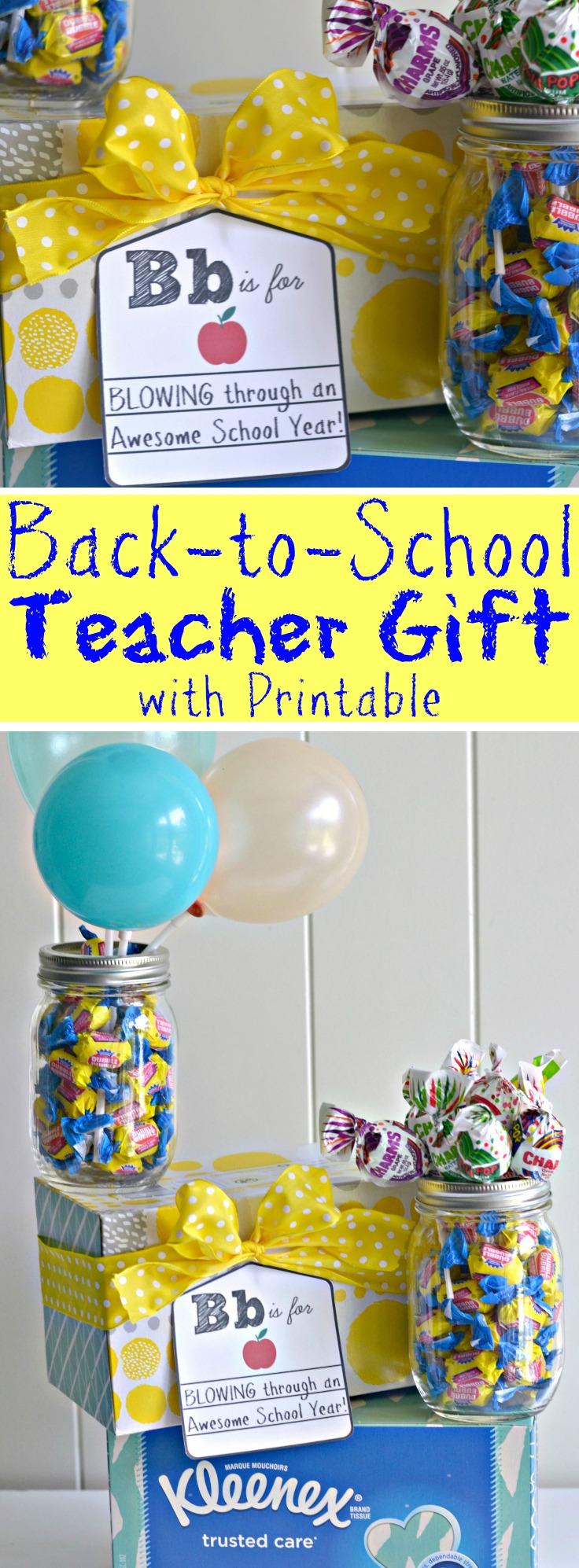 back to school teacher survival gift