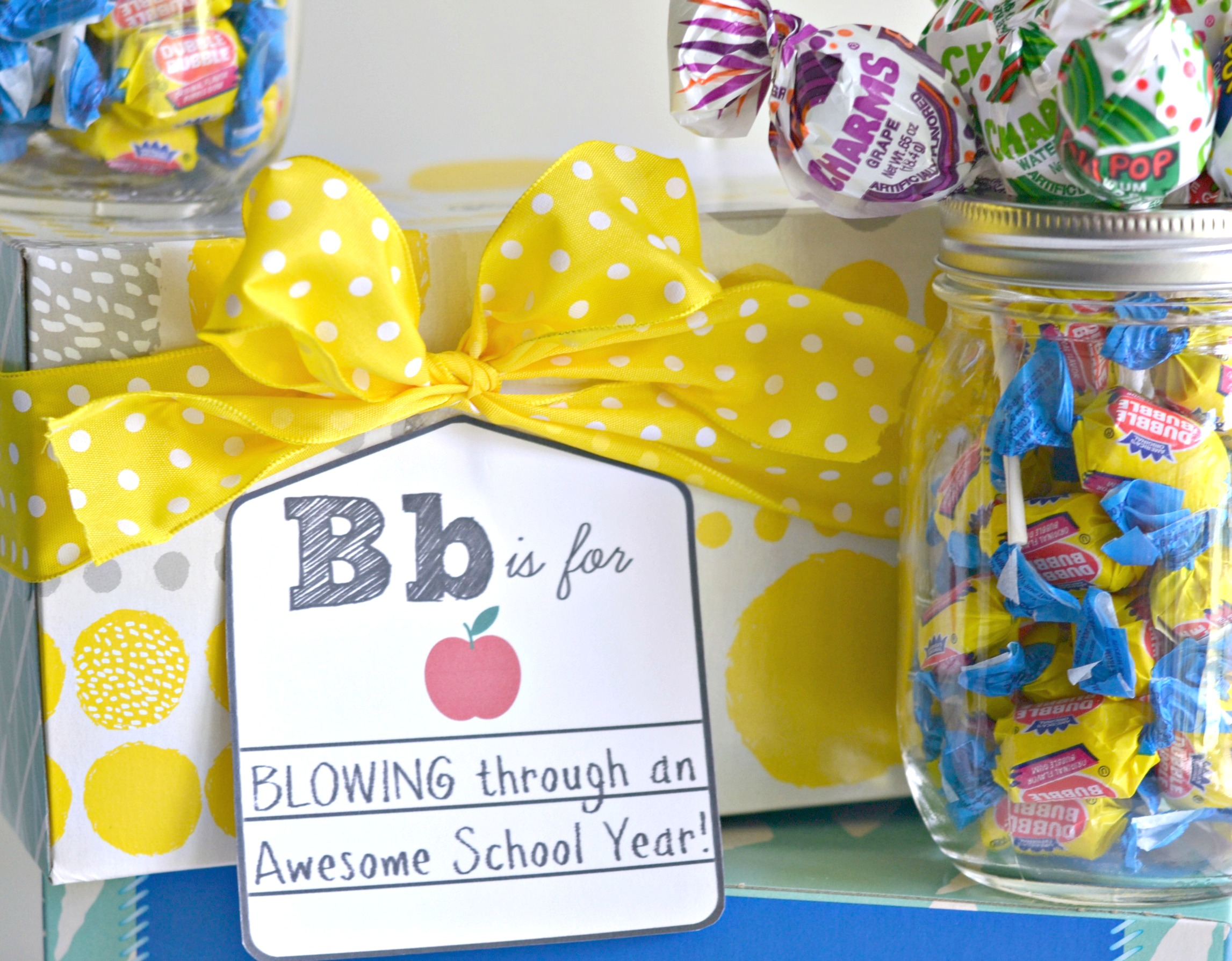 Back to school teacher gift printable