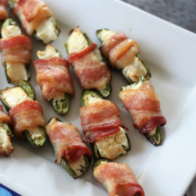 Crowd Pleasing Jalapeno Poppers