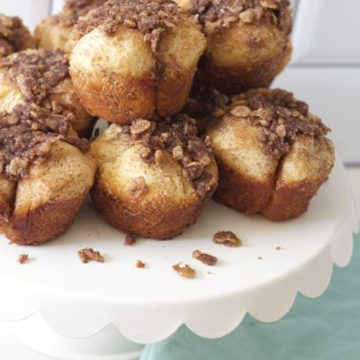 Snickerdoodle Muffin with Cinnamon PEBBLES™ Crumble